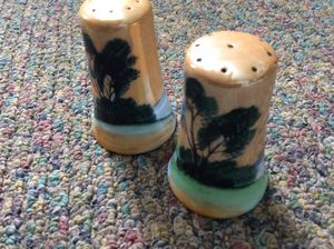 Vintage ceramic made in Japan,salt and pepper shaker set for Sale in Ridgeway, WI
