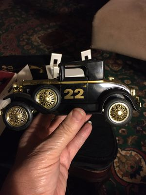 1993 Richmond Racing Fireball Roberts Ford Model A Roadster Metal Coin Bank for Sale in Greer, SC