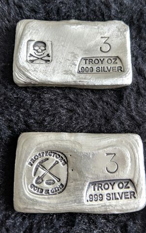 Silver Bars- Prices Vary-Message me for more info for Sale in Baltimore, MD