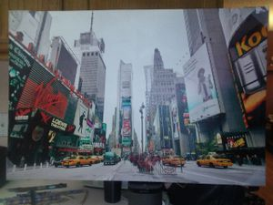 Times Square canvas for Sale in Scottsdale, AZ