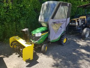 John Deer D130 Tractor and Snowblower for Sale in Norfolk, MA