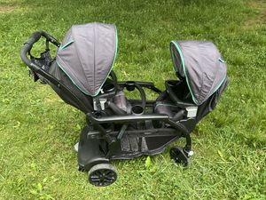 Double Stroller - Greco click connect Modes Duo for Sale in Philadelphia, PA