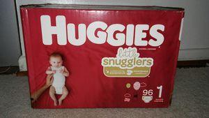 Box huggies little snugglers #1 for Sale in Glenarden, MD