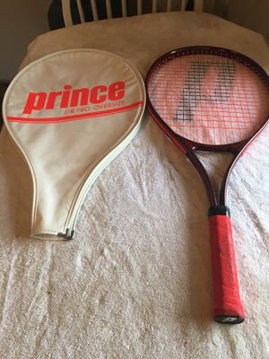 Prince JrPro Oversized Tennis Racket for Sale in Quincy, MA