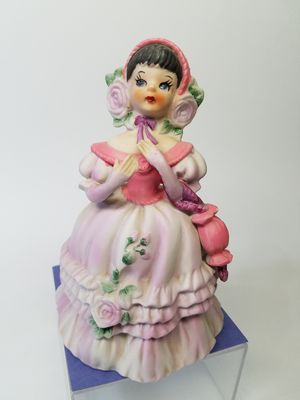 Vintage Lefton Southern Belle Porcelain Bisque Figurine (Read Below) for Sale in Phoenix, AZ