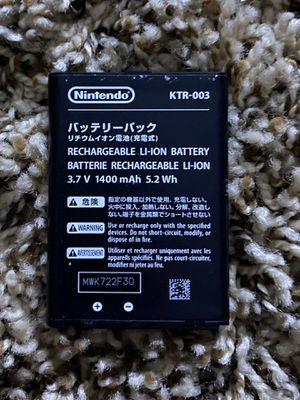 Nintendo 3DS Rechargeable Battery for Sale in Manchester, CT