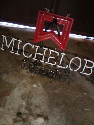 MICHELOB Draught 1981 vintage sign for Sale in Jurupa Valley, CA