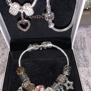Set Of Neckless And Pandora Braclet for Sale in Dearborn, MI