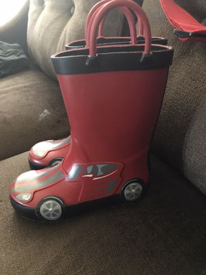 Cars rain boots for Sale in Los Angeles, CA