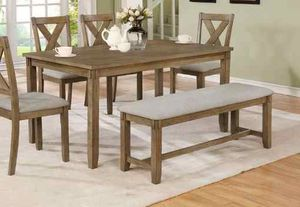 Dining table set. New in boxes. Price is firm 6TXM for Sale in Pomona, CA