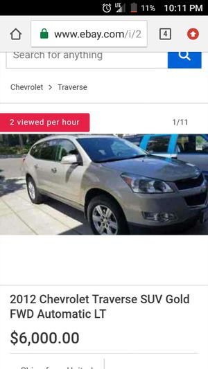 Chevy traverse 2012 for Sale in Warner Robins, GA