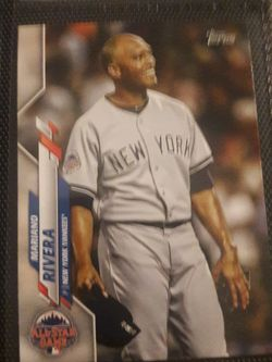 Mariano Rivera 2021 Topps Series 1 Baseball Base Card Poster # to 99 for Sale in Fairfax,  VA