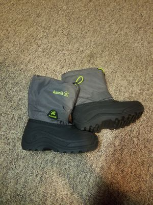 Kids Kamik Snow Boots Size 11 $20 / OBO for Sale in Fair Lawn, NJ