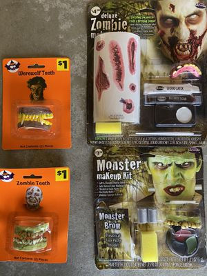 NEW Halloween makeup $5 for all for Sale in Fresno, CA