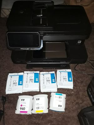 HP PHOTO SMART 7510 PRINTER WITH EXTRA INK CARTRIDGES for Sale in Pompano Beach, FL