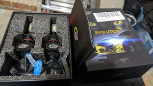 Cougar Motor H7 LED Headlamps Headlights - 6500k Fanless for Sale in Charlotte, NC