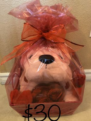 Valentine's Beauty Basket for Sale in Fresno, CA