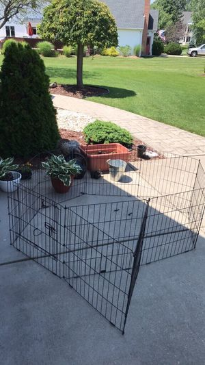Small dog fence play area for Sale in Swormville, NY