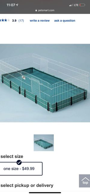 Nice cage for Guinea pig for Sale in La Mesa, CA
