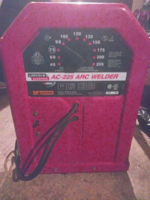 Lincoln welder ac 225 for Sale in Channelview, TX