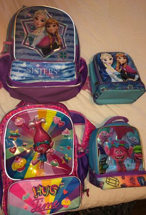 Book bag and lunch box sets for Sale in Loxahatchee, FL