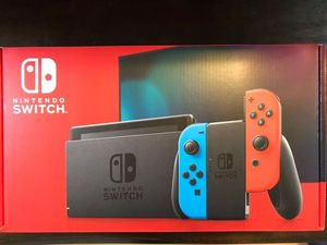Nintendo Switch with Neon Blue and Neon Red Joy-con 32GB V2 BRAND NEW UNOPENED for Sale in Cerritos, CA