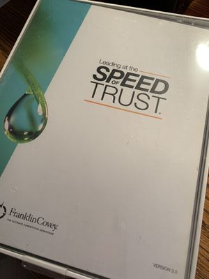 Speed of Trust Workshop Packet (New) by Franklin Covey for Sale in Peoria, AZ