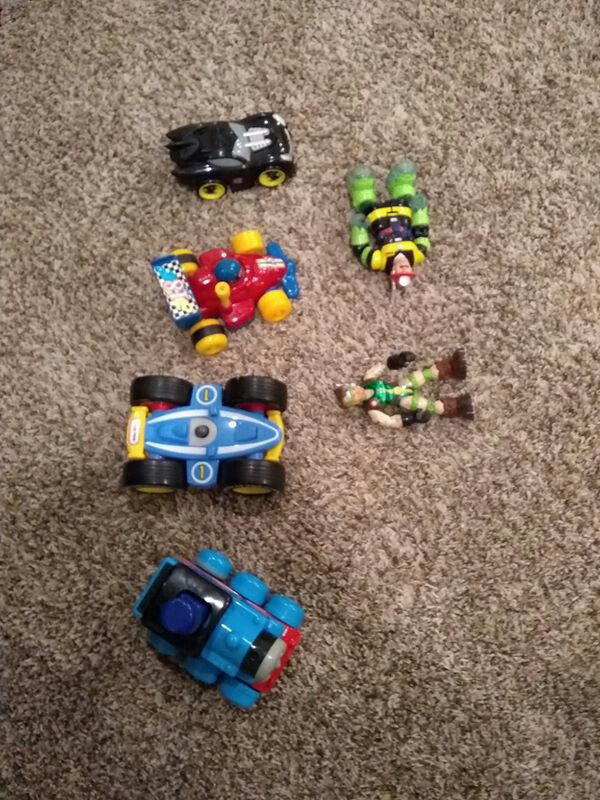 Toys in new condition