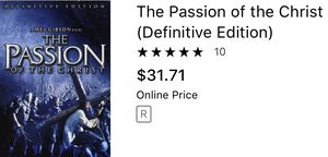 The passion of the Christ bible church religion movies dvd cds for Sale in Glendale, AZ