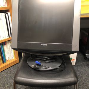 """Sony 18"""" Computer Monitor for Sale in Apple Valley, CA"""