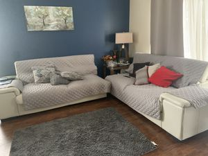 Ashley's furniture white couches for Sale in Orlando, FL