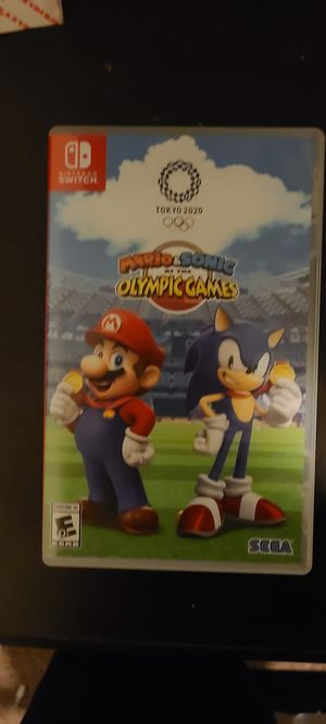 Mario and Sonic at the 2020 Olympic Games for Sale in Columbia, MO