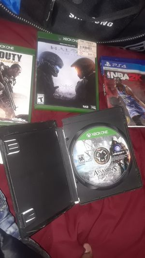 Xbox 1 games and p4 games for Sale in Detroit, MI