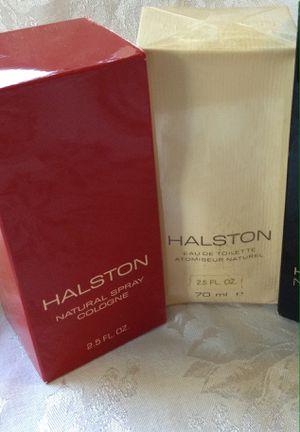 Halston fragrances 2.5 FL oz. Natural spray cologne and orig scent Eau de toilette for Sale in Cape Coral, FL