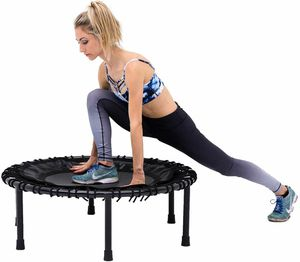 SkyBound Nimbus Exercise Fitness Rebounder Trampoline Cardio Physical Therapy w/Handlebar for Sale in Santa Ana, CA