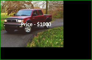 O1 Toyota Tacoma SR5 v6 - ֆ1OOO for Sale in Long Beach, CA