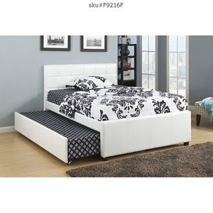 Brand new trundle bed frame twin $260 full $290 for Sale in Miami, FL
