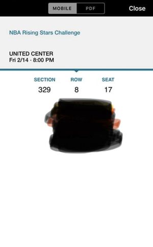2 Tickets To The NBA Rising Stars Challenge for Sale in Grand Rapids, MI