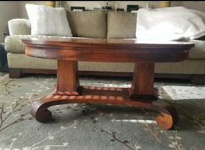 Antique American Tiger Oak Coffee Table for Sale in Kent, WA