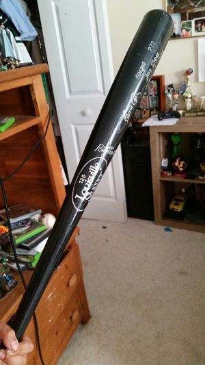 Major league baseball ball bat for Sale in Winston, GA
