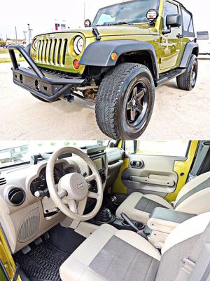 2008 Jeep Wrangler Trail Rated 4*4 for Sale in Houston, TX
