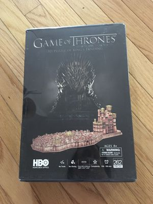 Game of thrones 3D puzzle - KINGS LANDING for Sale in Cary, NC