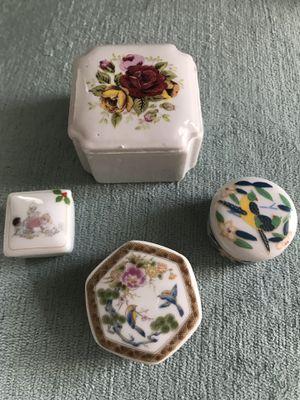 Vintage Ceramic trinket boxes for Sale in Jacksonville, FL