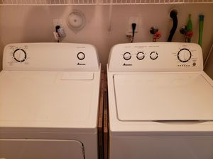 Amana washer and gas dryer for Sale in West Palm Beach, FL