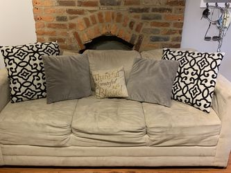 Microfiber Beige Couch Sofa Set for Sale in Columbus,  OH