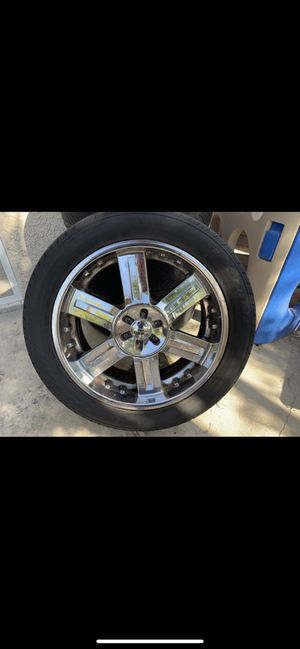 22 Inch Chrome Rims for Sale in Henderson, NV
