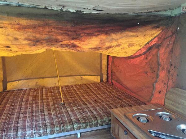 Old pop up camper