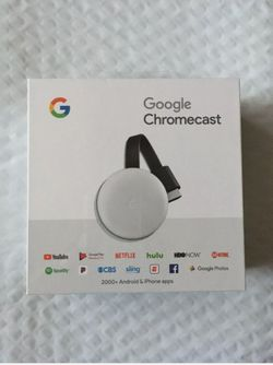 Chromecast (Chalk) for Sale in Los Angeles,  CA