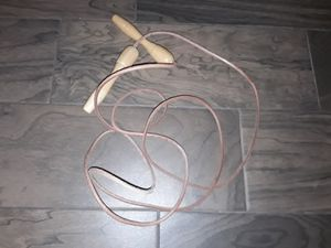 Genuine leather jump rope for Sale in San Diego, CA