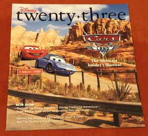 D23 (Disney) Magazine: Fall 2012 for Sale, used for sale  San Diego, CA